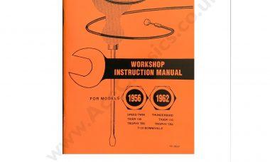 1956 - 1962 Work Shop Manual