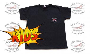 Ace Classics - Kids Ace Racing 32 Black T-shirt