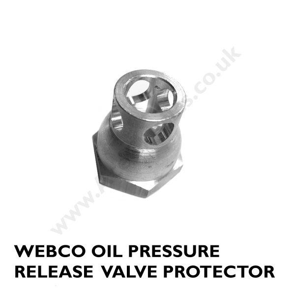 TRIUMPH - Pre Unit WEBCO Oil Pressure Release Valve Protector