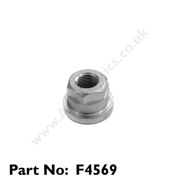 Triumph - 1961 to 1962 Gear Box Top Stud Flanged Nut F4569