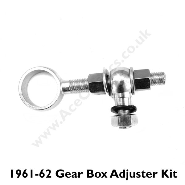 Triumph - 1961 to 1962 Gear Box Adjuster Eye Bolt Complete Kit