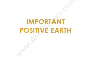 Triumph - Important Positive Earth Transfer