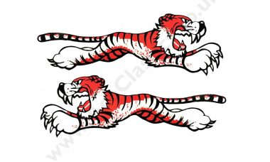 Triumph - Leaping Tiger STickers