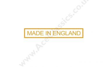 Triumph - Made In England Transfer