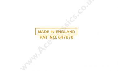 Triumph - Made In England Pat No Transfer