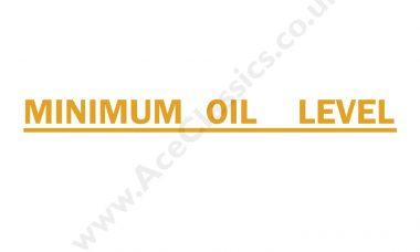 Triumph - Minimum Oil Level Transfer