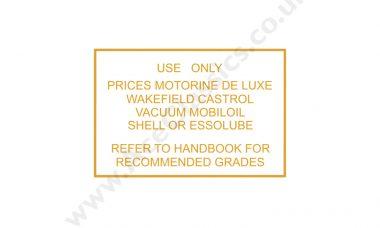 Triumph - Prices Motorine De Luxe Transfer