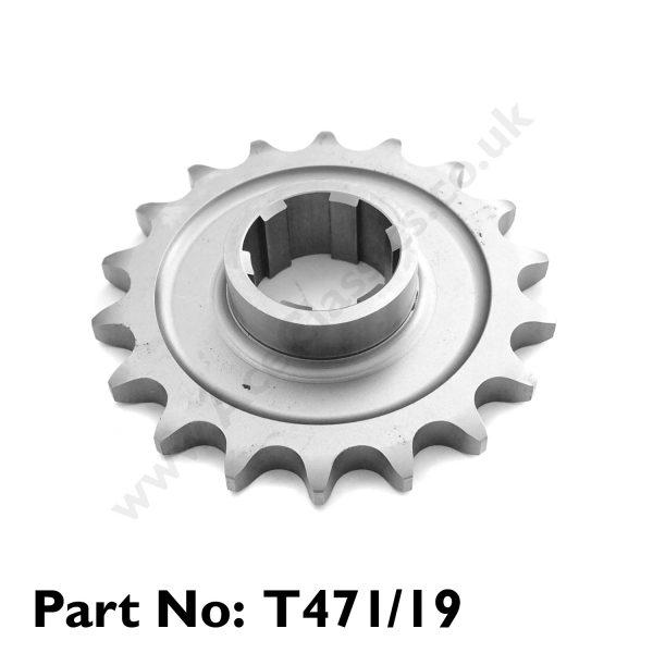 Pre Unit 19 Tooth Gear Box Sprocket T471/19
