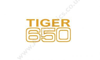 Triumph - Tiger 650 Transfer (small)