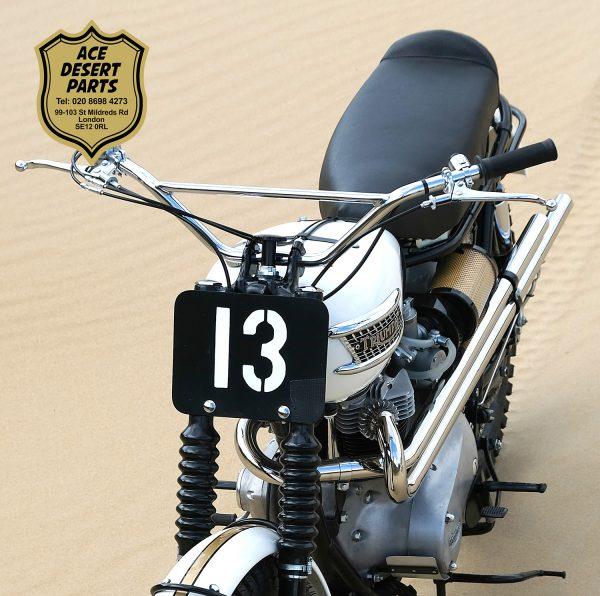 "Triumph - Ekins Desert Pipes ""13"""