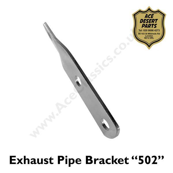 "Triumph - Exhaust Pipe Brackets ""502"""