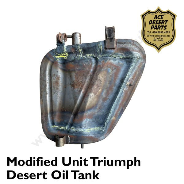 Modified Unit Triumph Desert Oil Tank