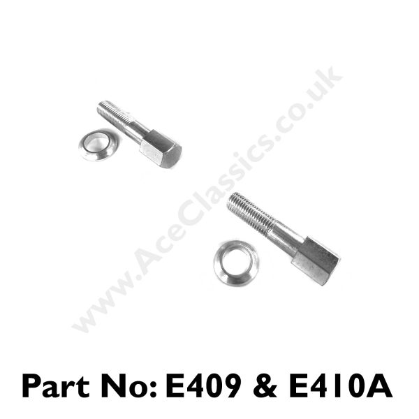 Triumph - Exhaust Clamp Bolts and Washers E409 and E410A