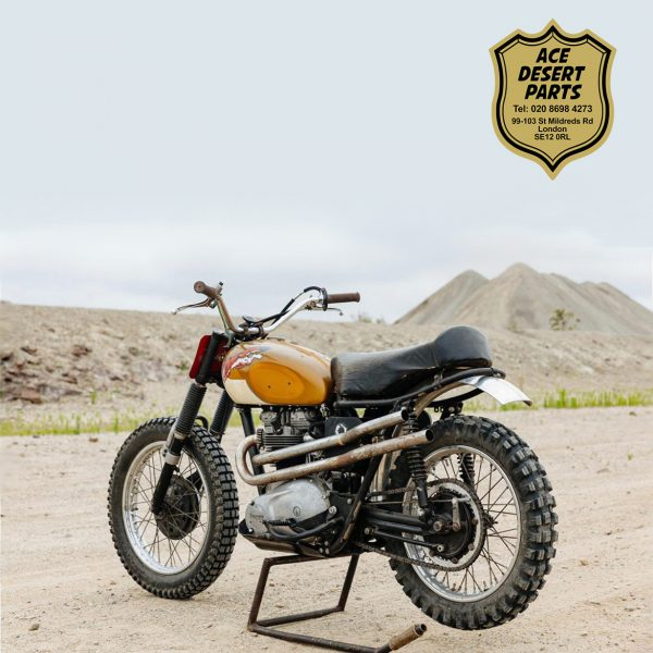 Triumph - Bud Ekins Style Pipes