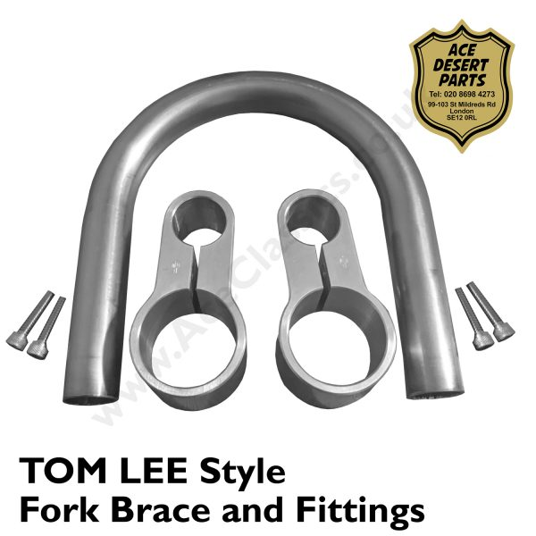 Triumph - Tom Lee Style Fork Brace and Fittings