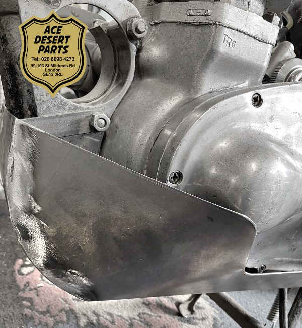 1954-59 Single Down Tube Skid Plate