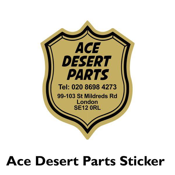 Ace Desert Parts Dealer Sticker