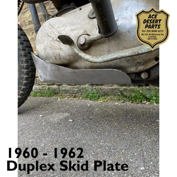 1960 - 1962 Duplex Skid Plate