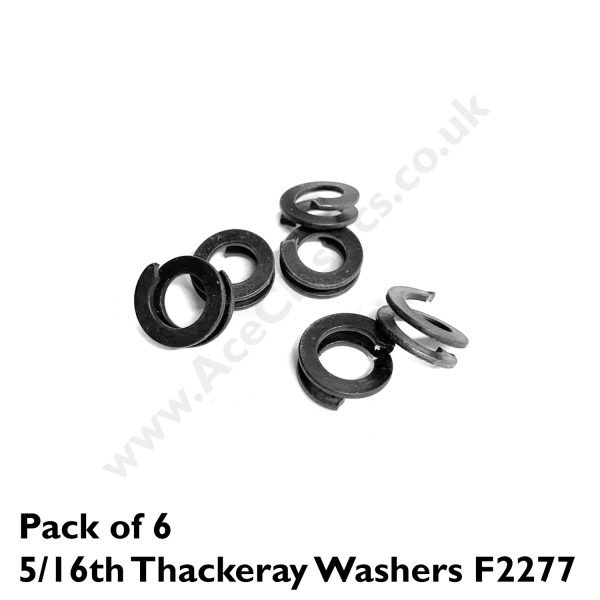 Pack of 6 x 5/16th Thackeray Washers F2277