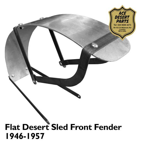 Flat Desert Sled Front Fender 1946-1957