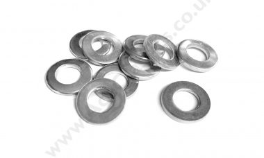 Pack of 10 x 5/16th Plain Washers S25-3