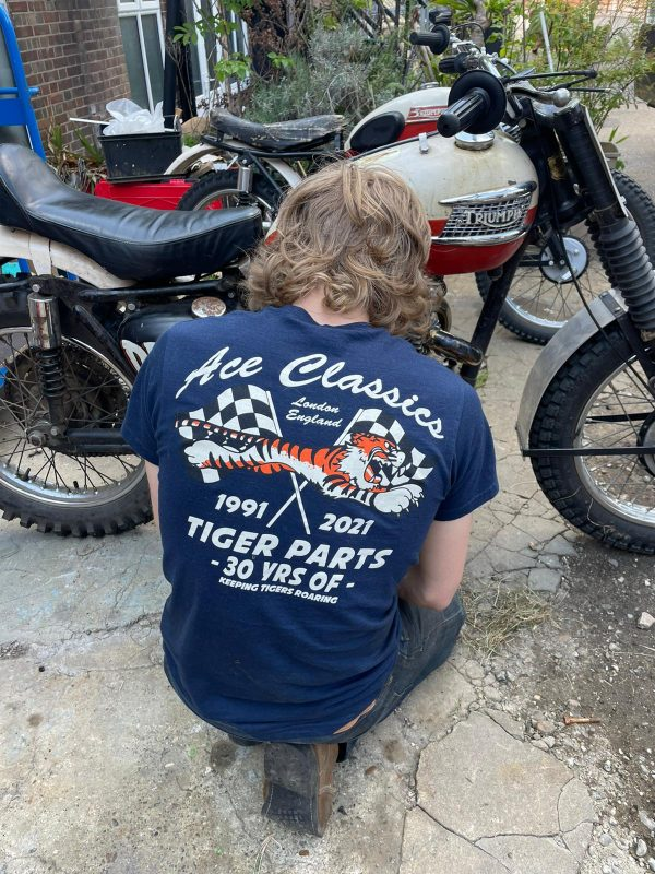 The Ace Classics Limited Edition 30 Year Navy Blue T-Shirt