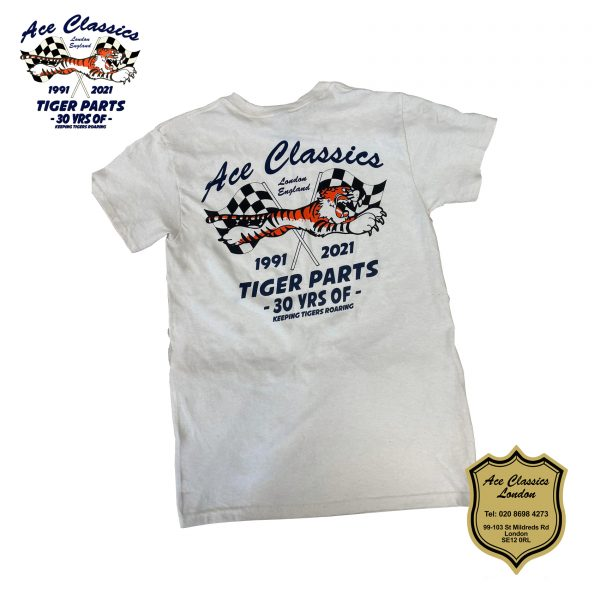 The Ace Classics Limited Edition 30 Year Off-White T-Shirt