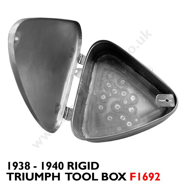 Triumph - 1938 - 1940 Rigid Tool Box F1692