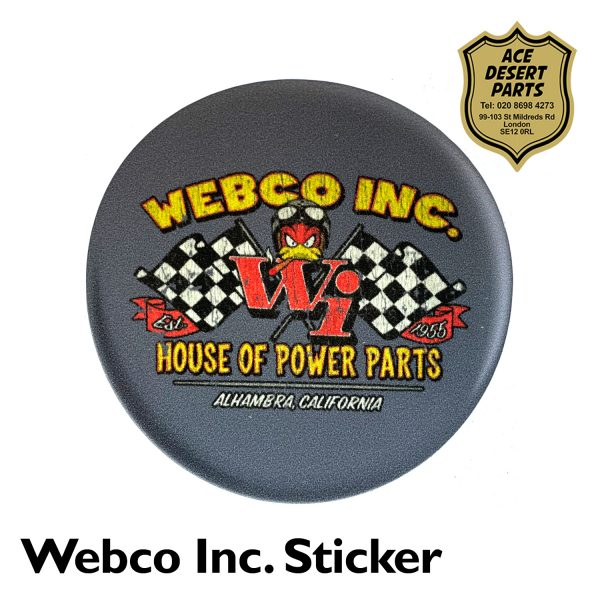 Webco Inc House of Power Parts Sticker