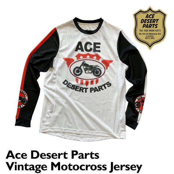 Ace Desert Parts Vintage Motocross Jersey