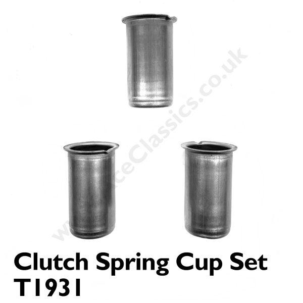 Triumph - 3 X Unit Clutch Spring Cup Set