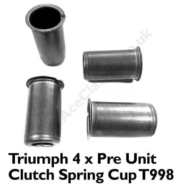 Triumph 4 x Pre Unit Clutch Spring Cup T998