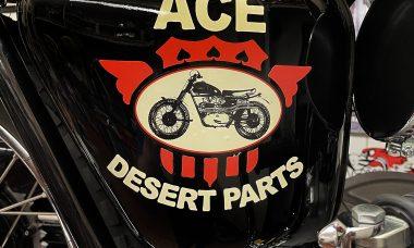Ace Desert Parts Oil Tank Sticker