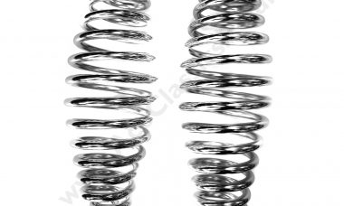 Triumph - 2 x Rigid Chrome Barrel Seat Springs