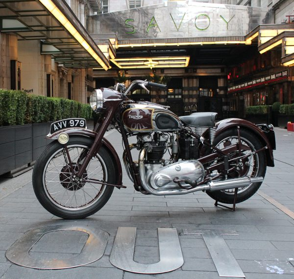 Triumph - Rigid Sprung Saddle