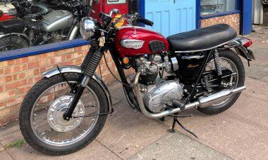 1968 T120R Bonneville