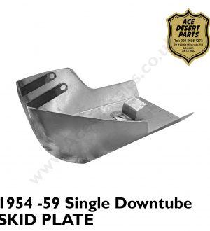 Triumph - 1954-59 Single Downtube Skid Plate