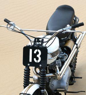 Vintage Motocross Style Handlebars