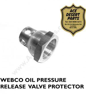 TRIUMPH – Pre Unit WEBCO Oil Pressure Release Valve Protector
