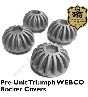 Triumph - Pre Unit Webco Rocker Covers